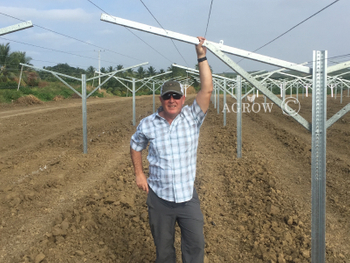 AGROW Open Flat System Installed in Ecuador